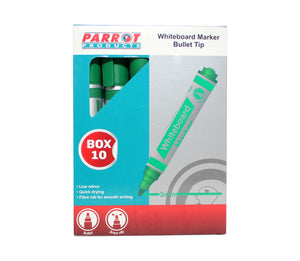 Marker Whiteboard Bullet Box 10 Green