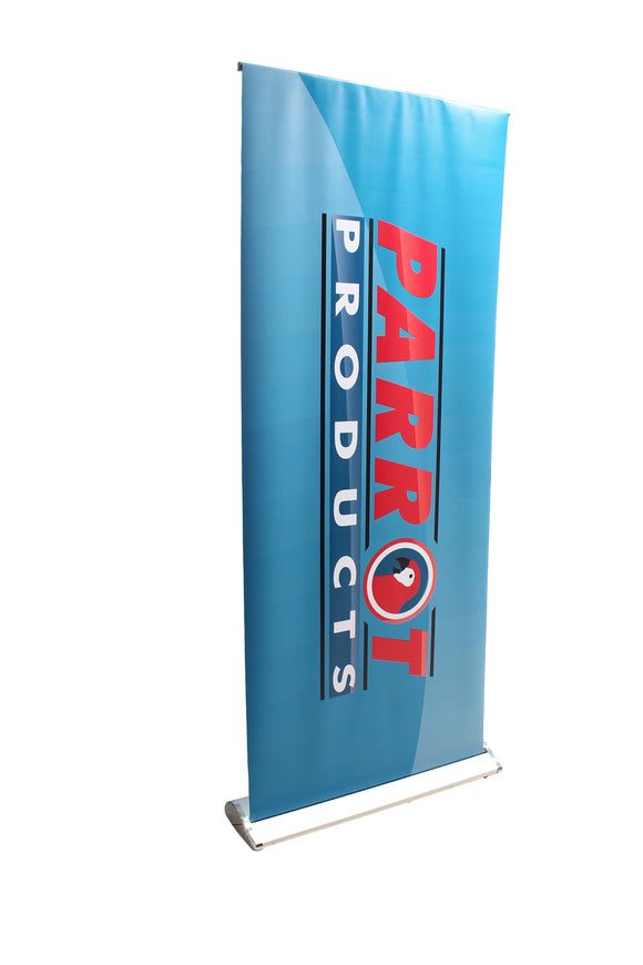 Pull Up Banner Deluxe Aluminium 850 X 2000mm Printed