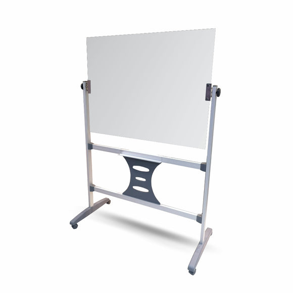 Revolving Glass Whiteboard Magnetic 1200 x 900mm