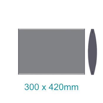 Sign Frame 300x 420mm A 3 Dbl Sided Wall Mounted