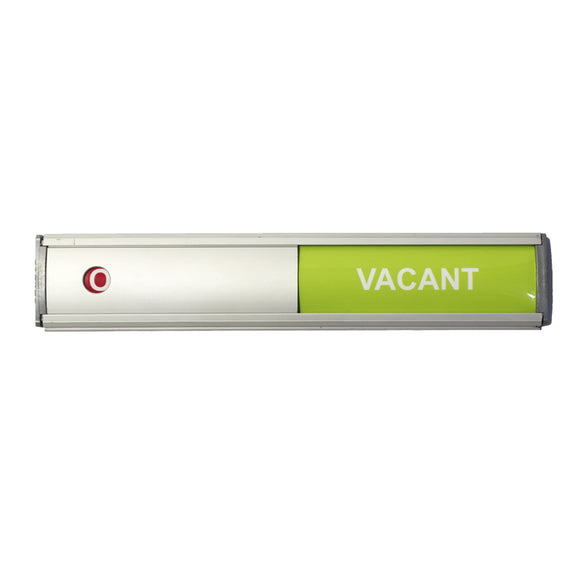 Sign Frame 50 X 280mm Vacant Occupied Slide Retail Pack