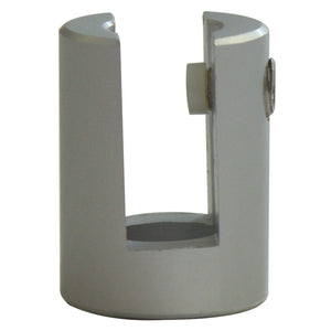 Sign H W Side Wall Clamp Aluminium 19mm