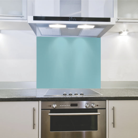 Splashback 598x 650x 4mm Egg Shell Hob