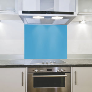 Splashback 598x 650x 4mm Hob Blue