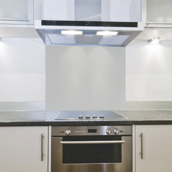 Splashback 598x 650x 4mm Hob Cool Grey