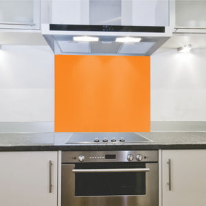 Splashback 598x 650x 4mm Hob Orange