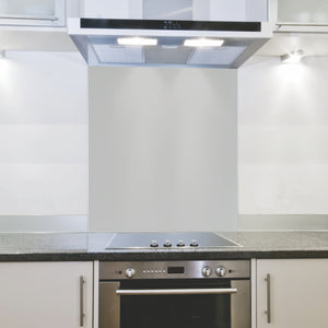 Splashback 898x 700x 4mm Hob Cool Grey