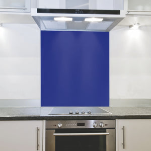 Splashback 898x 700x 4mm Hob Royal Blue