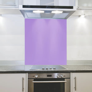 Splashback 898x 700x 4mm hob Lavender Purple