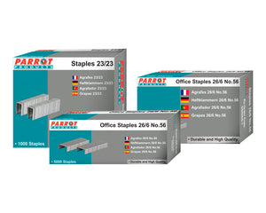 Staples 23 13 1000pcs 100 Pages