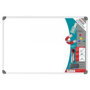 Parrot Whiteboard Slimline Magnetic 900x600mm Retail