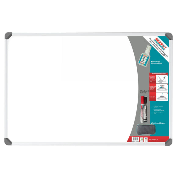 Parrot Whiteboard Slimline Non MagneB1905:B1940tic 900x600mm Retail