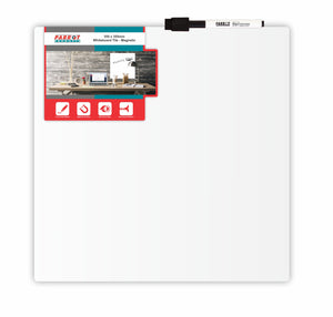 Whiteboard Tile Magnetic 355x 355mm White