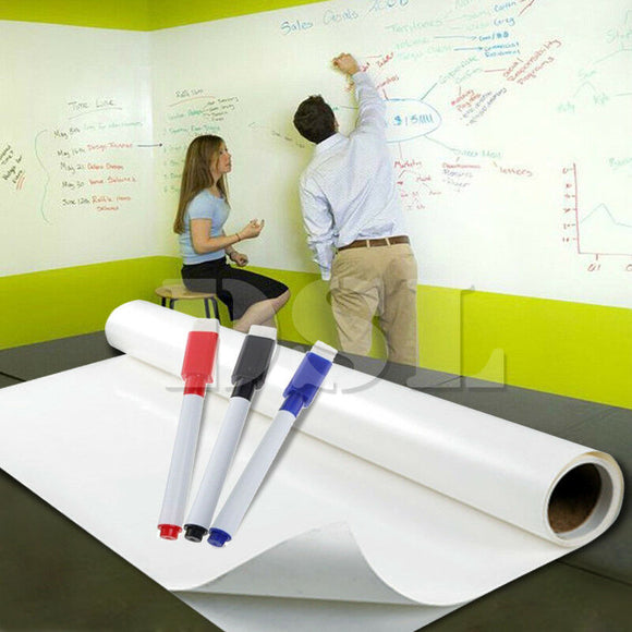Whiteboard Vinyl Self Adhesive per meter