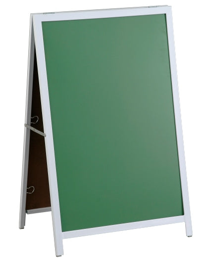 A Frame Chalk Board Steel Frame 900 600mm