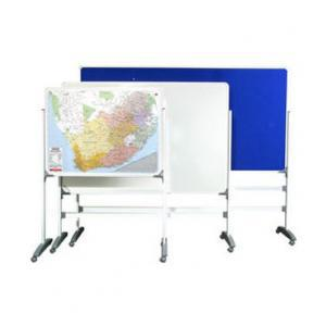 Standard Non-Magnetic Whiteboard with T-Legs