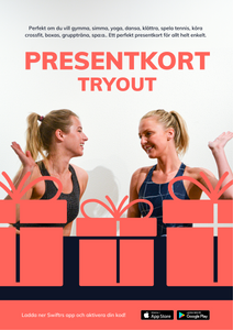 Swiftr Tryout - Presentkort