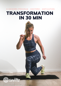 Transformation in 30 home edition - träningsprogram