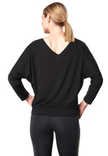 Bamboo Dolman Top - BLACK