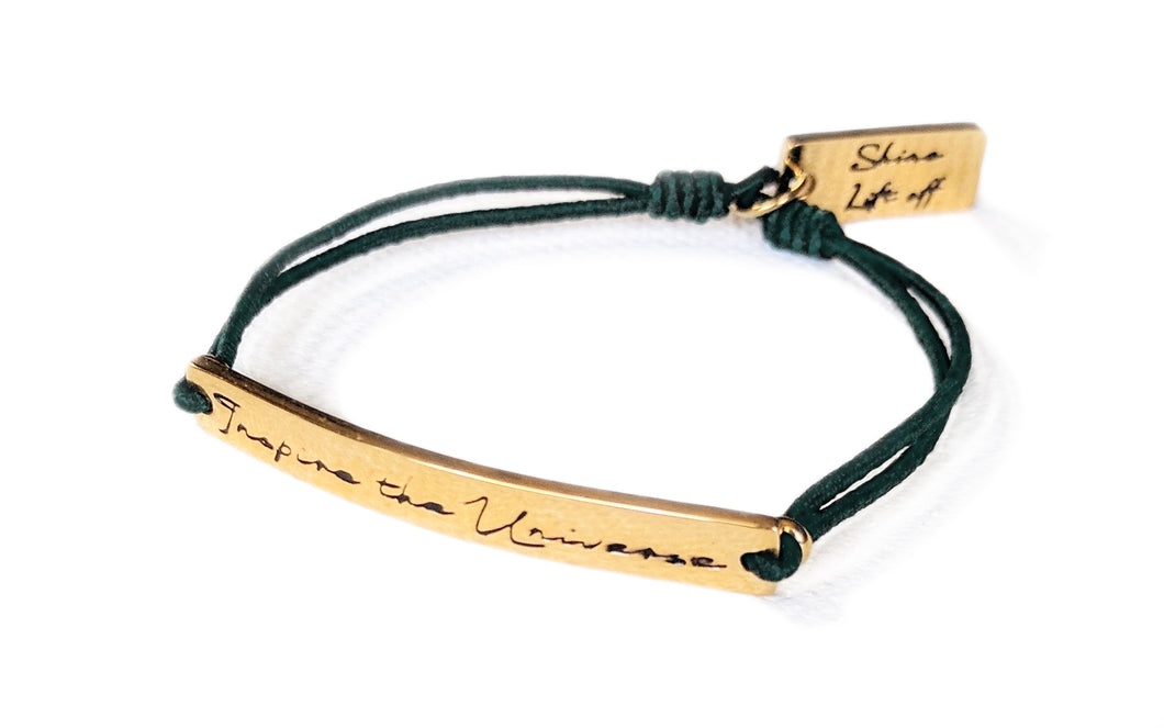 Lift off Bracelet - DARK EMERALD GREEN