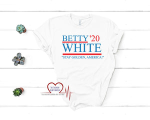 Betty White for President T-Shirt, Betty White T-Shirt, Betty White 2020 - The Creative Heart Warrior
