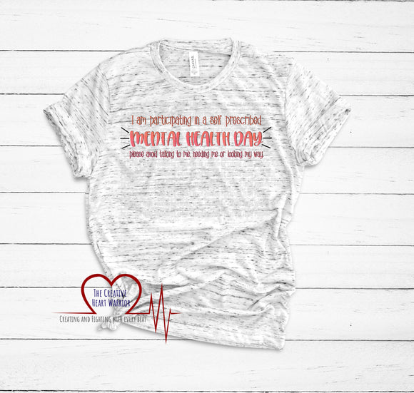 Mental Health Day Adult T-Shirt