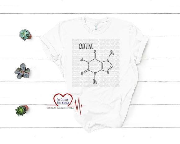 Caffeine Chemical Compound Adult T-Shirt