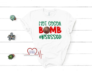 Hot Cocoa Bomb Obsessed T-Shirt - The Creative Heart Warrior
