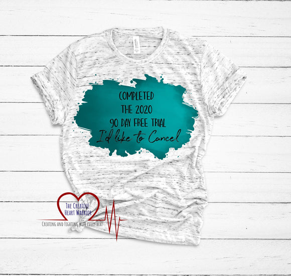 2020 Trial T-Shirt - The Creative Heart Warrior