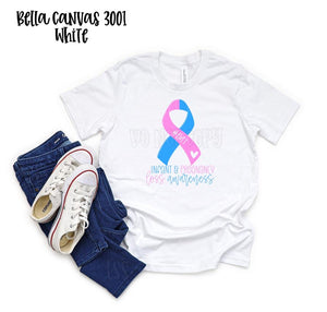 Pregnancy and Infant Loss Awareness Screen Print T-Shirt PRE ORDER ENDS 4/24