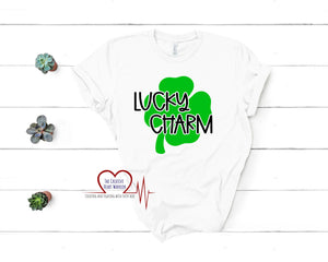 Lucky Charm Adult T-Shirt - The Creative Heart Warrior
