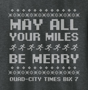 Long Sleeve T-shirt - May All Your Miles Be Merry