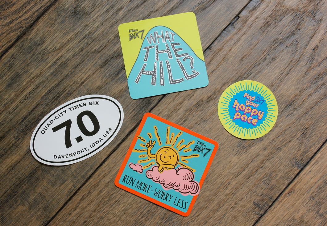 Stickers - 4 Pack