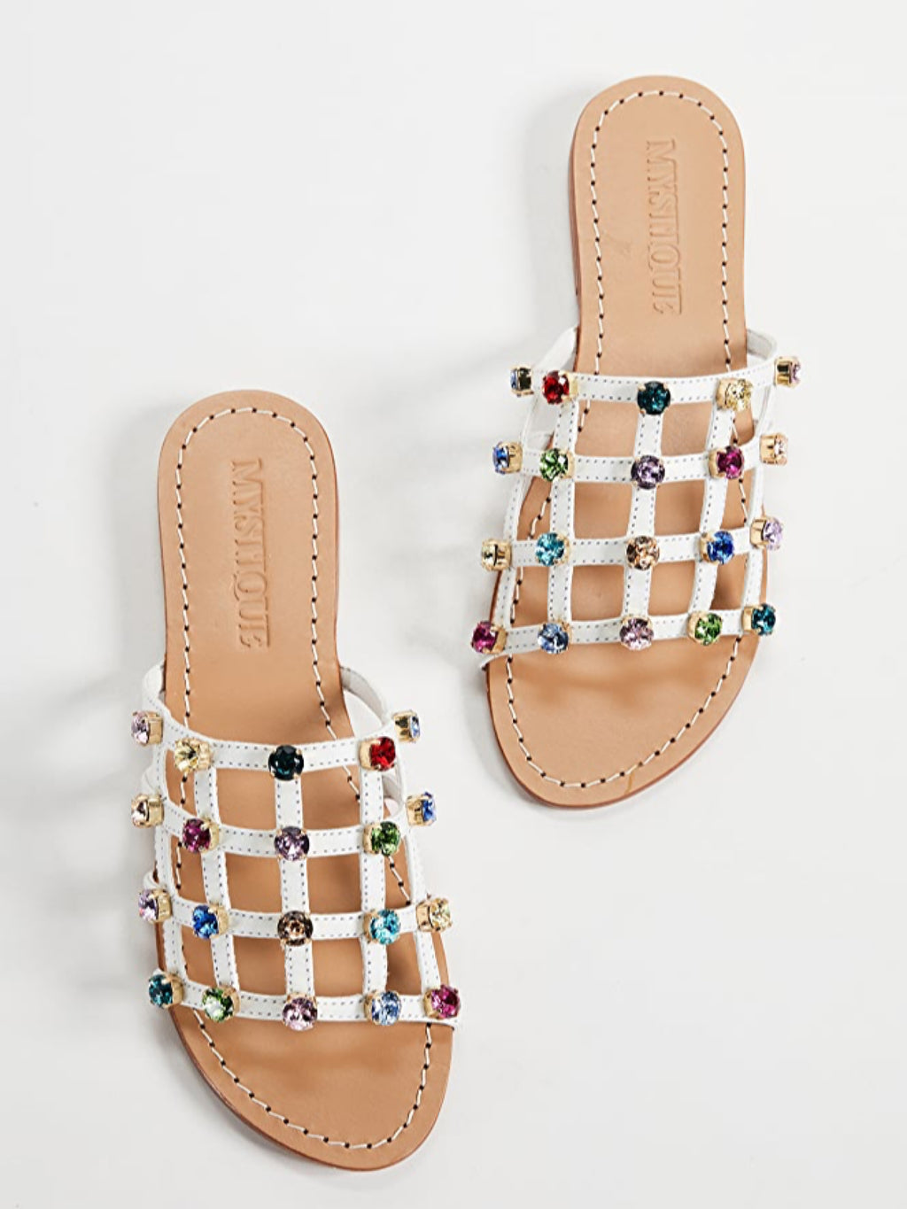 Caged Jeweled Slide