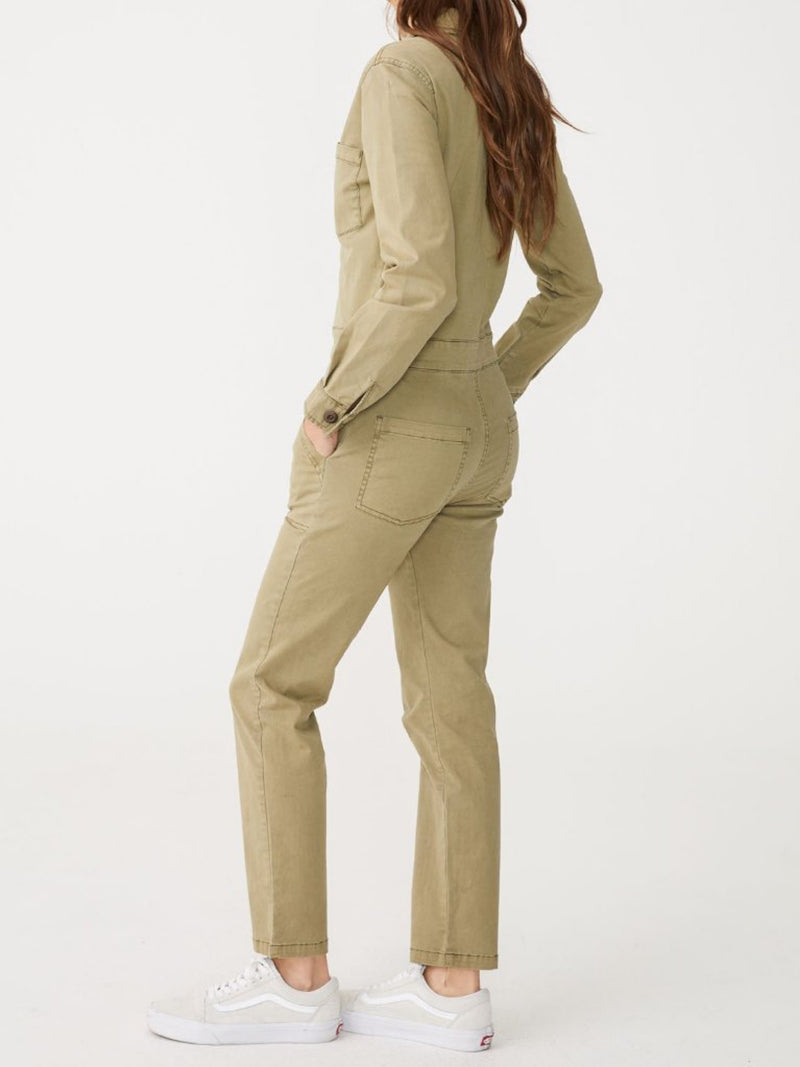 Fitted Utility Jumpsuit