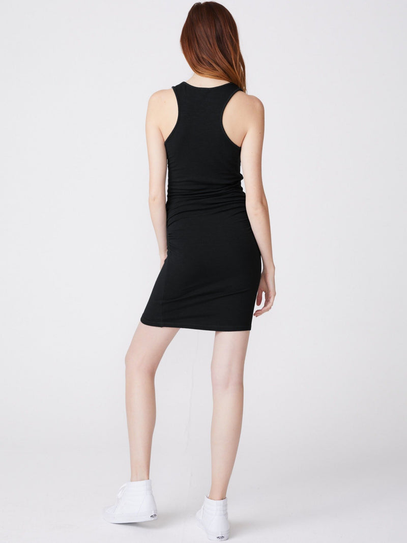 Tank Shirred Dress