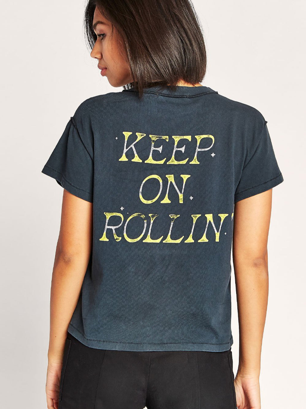 Keep On Rollin' Girlfriend Tee