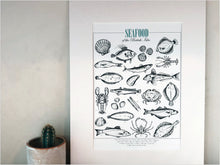 Load image into Gallery viewer, Seafood print