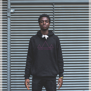 Triangles Logo Pullover Hoodie
