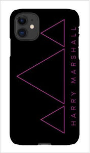 Triangles iPhone 11 Snap Case
