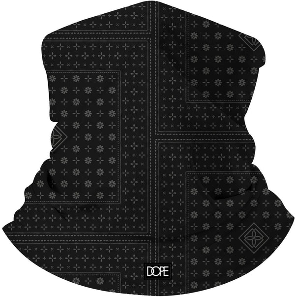 Dope - Blood, Sweat & Tears Gaiter Face Shield (black)