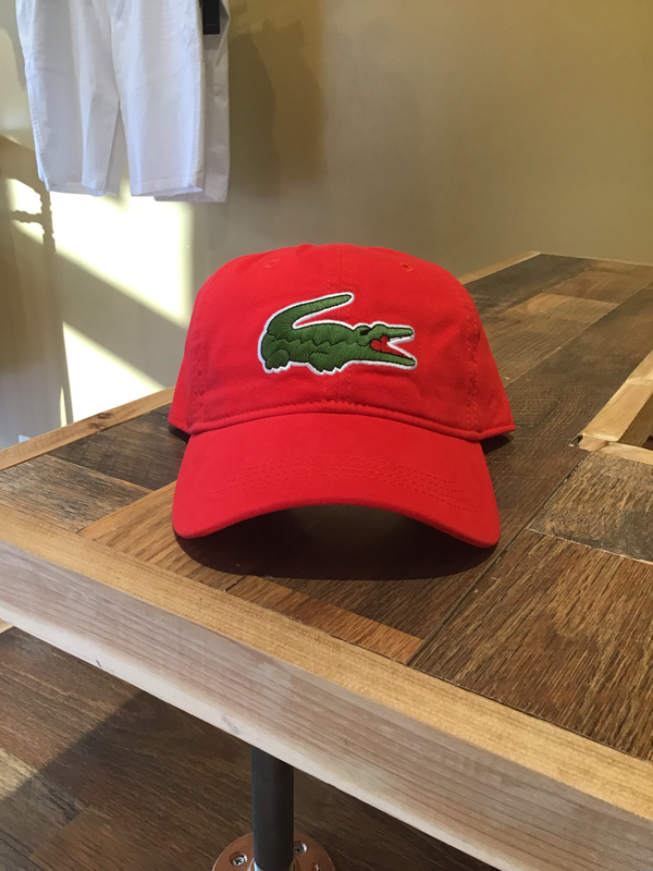 Lacoste Hat (red)