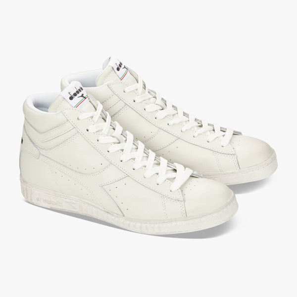 Diadora - Game L High Waxed (white, vintage soles)