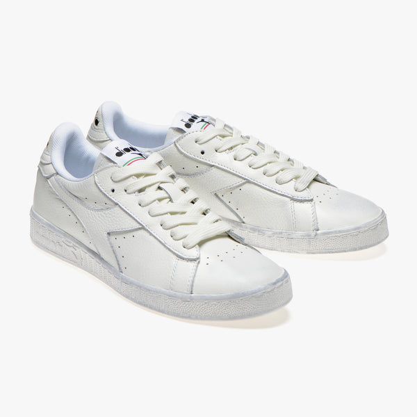 Diadora - Game L Low Waxed (white, vintage sole)