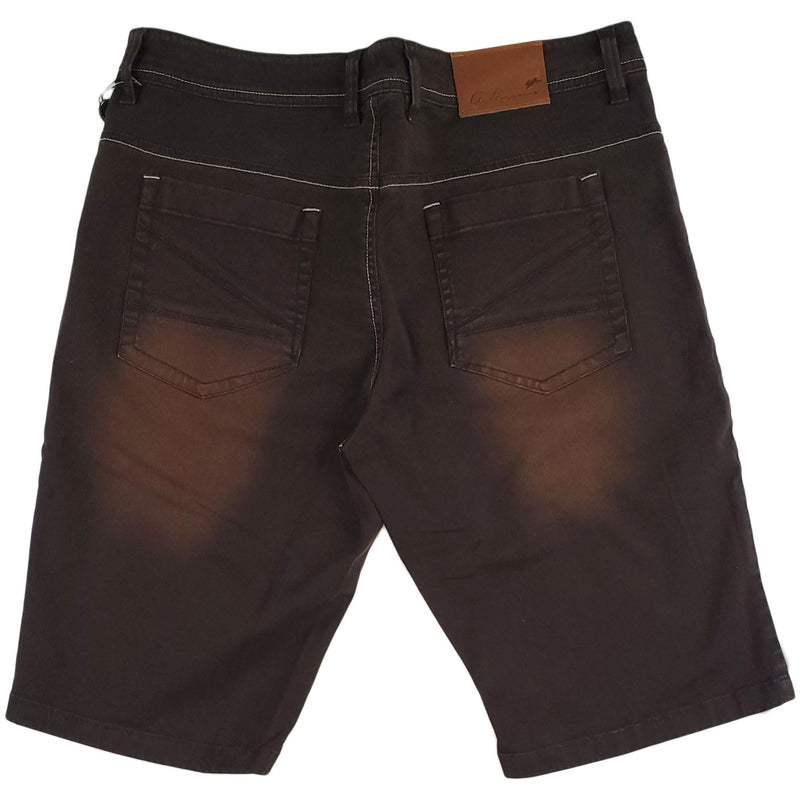 A. Tiziano Greg Bark Short (brown)