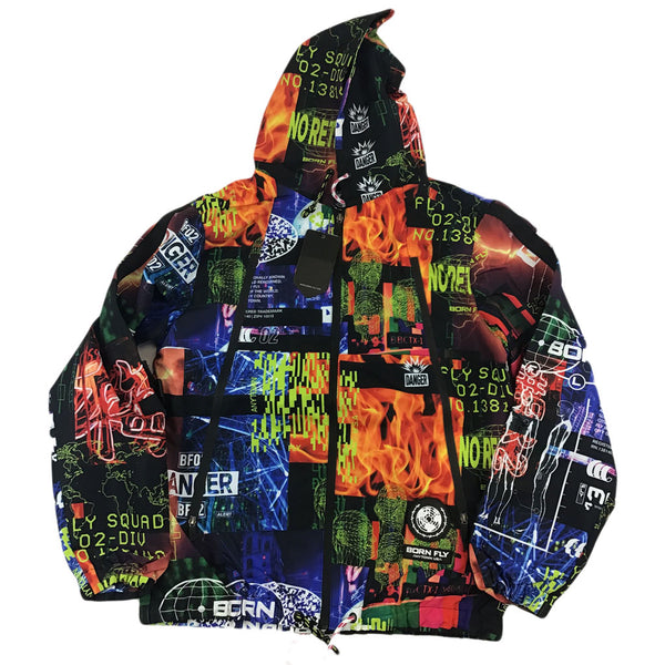 Born Fly Attack Nylon Jacket (black)