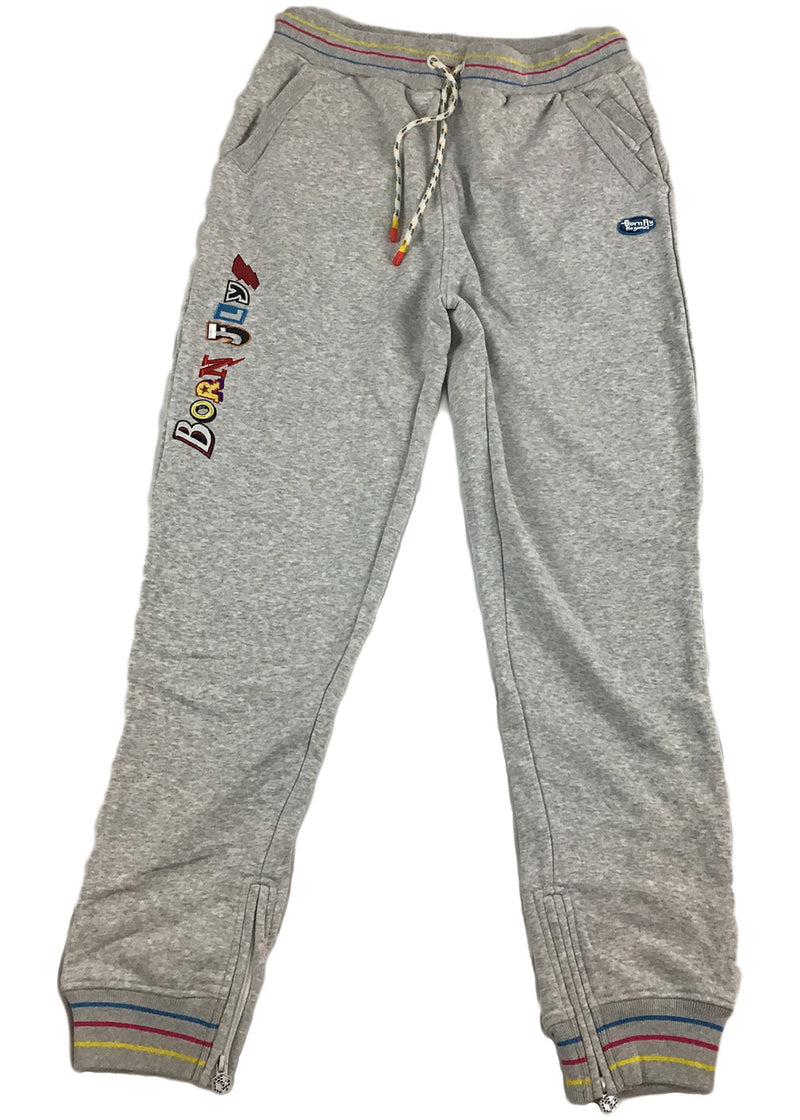 Born Fly Chess Sweatpant (heather)