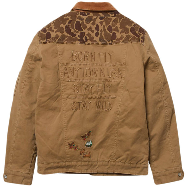Born Fly Field Twill Jacket (khaki)