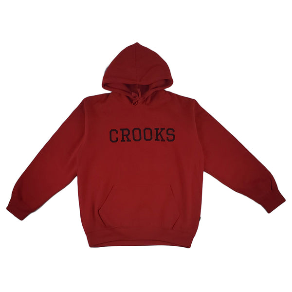 Crooks & Castles Crooks Essential Pullover (red)