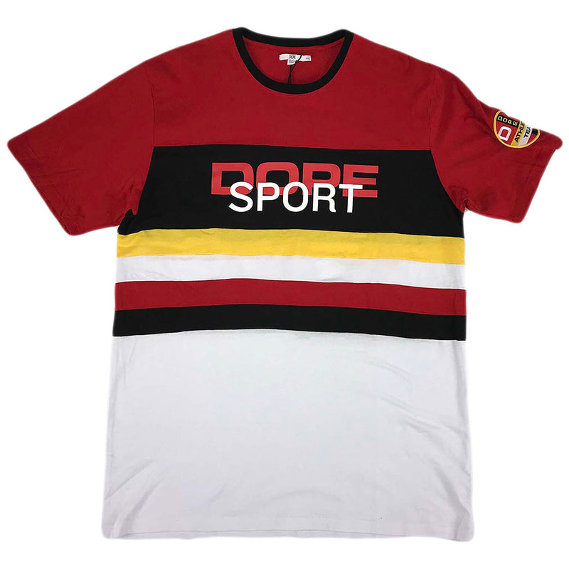 Dope Peloton Tee SS (red/black)